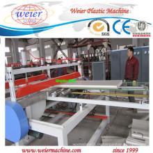 PVC WPC-Schaumplatten-Produktions-Maschinerie mit Ce, ISO