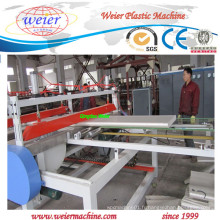 Machines de production de plaques de mousse de PVC WPC avec Ce, OIN
