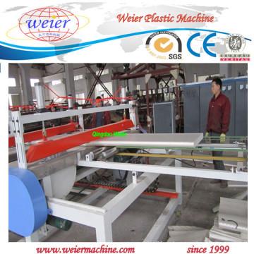 ПВХ пены WPC плиты производства машинного оборудования с CE, ИСО