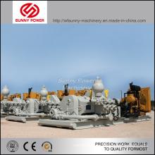 3900-1000kw Hochdruckkolben-Schlammpumpe angetrieben durch Dieselmotor