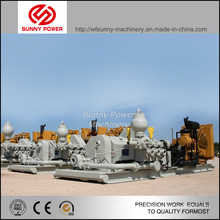 3900-1000kw High Pressure Piston Mud Pump Driven by Diesel Engine