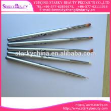 Popular 5 PCs Detachable UV Gel Acrylic Nail Art Brushes Painting Crystal Pen Tool Set