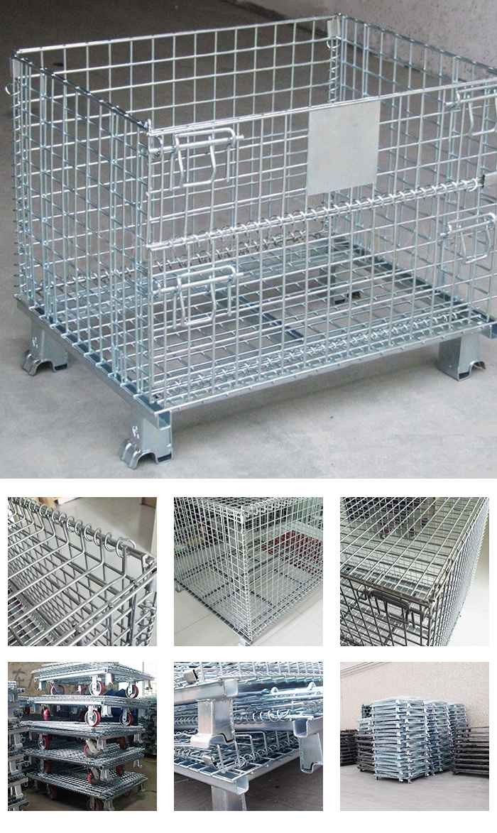 Folding Steel Storage Cages