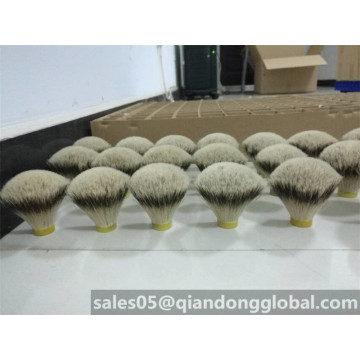 Fan-shaped Silvertip Badger Hair Shaving Brush Knot