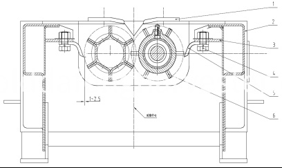 Adjust of flush trimmer and pull stem roller schematic diagram
