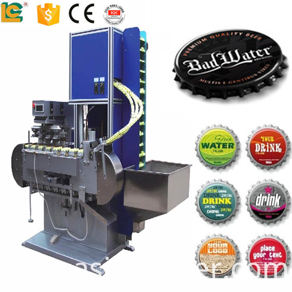 4 color pad printing machine