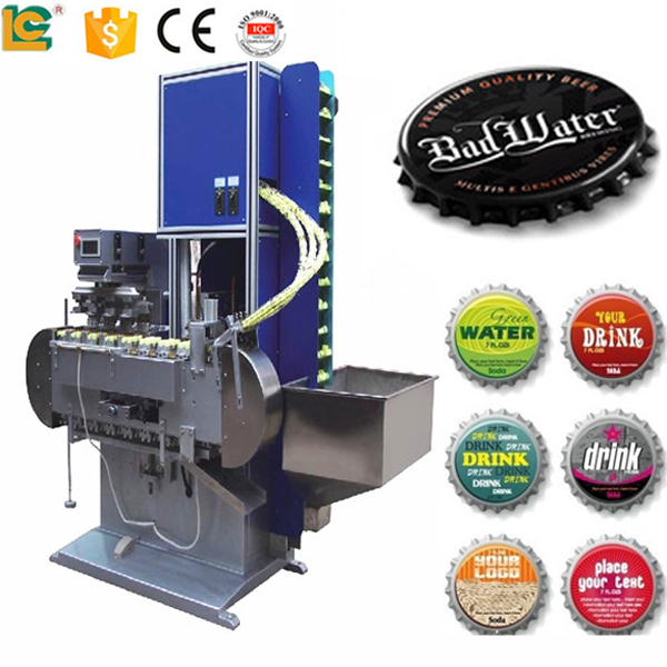 4-Color Automatic Bottle-Cap Tampo Printer machine