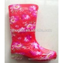 Sale Women Rain Boots Waterproof Ankle Boots for Rain Female B-820