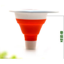 Eco-Friendly Collapsible Silicon Rubber Funnel
