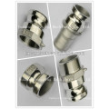 Investment casting Quick connect male adapter npt, bsp thread