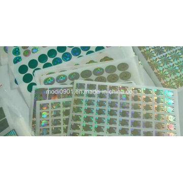Custom Hologram Label Stickers, Security Hologram Sticker, Warranty Hologram