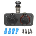 2 Way Socket Adapter Splitter Car Cigarette Lighter