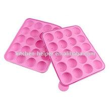 Hot Selling Higiene & Conforto de Uso Silicone Homemade Lollipop Mold