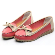 Ladies Driving Shoe Moccasin-Gommino Casual Leather Shoes Loafer Shoes (BRD0615-10)