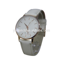 a pure fashion design leather strap Lady watches