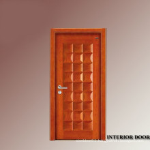 Tiles infilled to maike stronger wooden ledge & braced door design