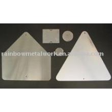 Aluminiumschild Blank