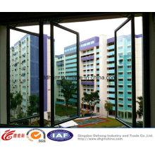 Fenêtre à battants en aluminium / PVC de style nouveau durable