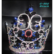 Пейнтборг Свадебные серебряные украшения Тиара дети принцесса черные бесшовные короны для волос
