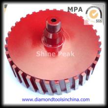 Алмазный шлифовальный барабан колесо для полировки камня стороне
