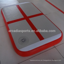 Caja de aire interior de la gimnasia inflable de la mini placa de aire de la aptitud de la casa
