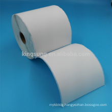 double layer half sheet self adhesive direct thermal label for shipping