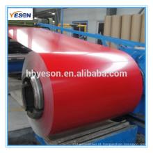 Bobina de aço galvanizado prepaint bobina de aço galvanizado bobina de aço galvanizado pré-pintado