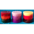 Lovely family business process candle