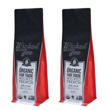 Empacotamento de alumínio do café do costume 12oz do saco de plástico