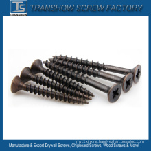 Pozi Drive Bronze Chipboard Screw