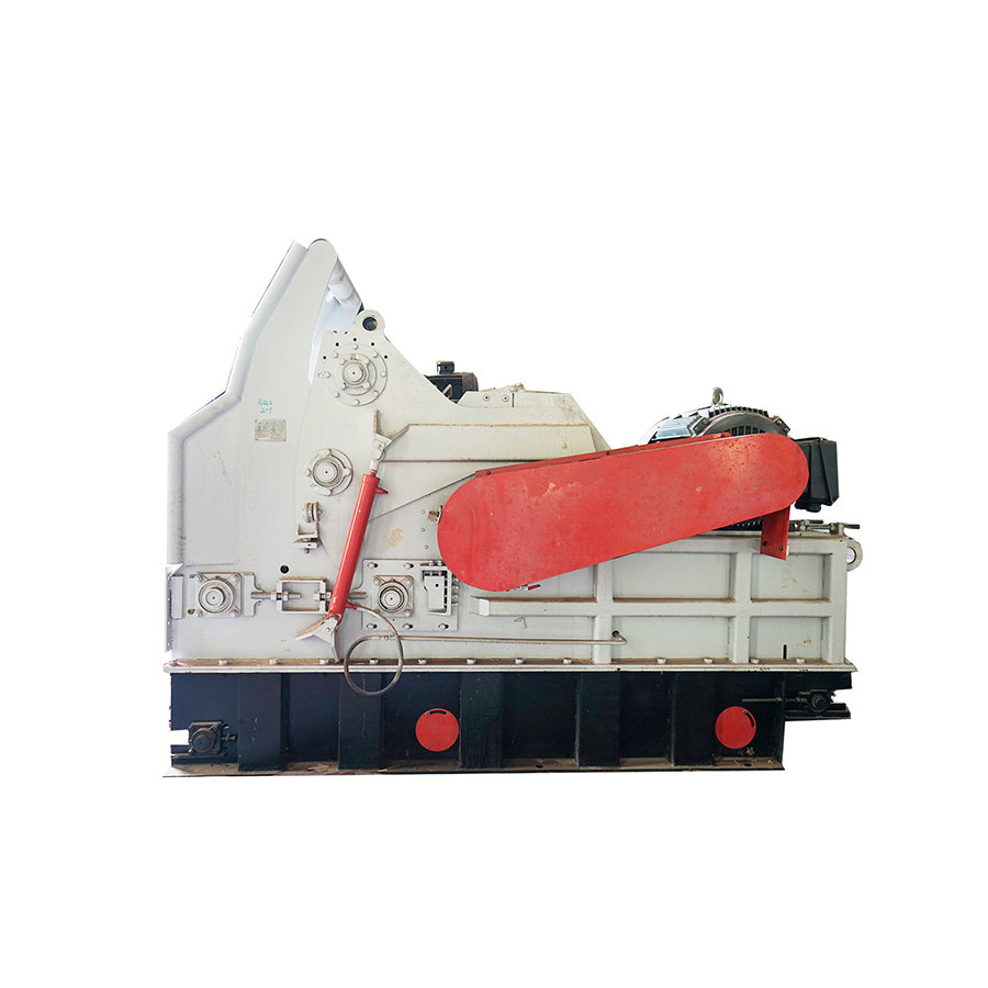 Large wood chipper