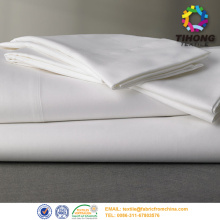 Vitt bomullstyg Bed Sheet