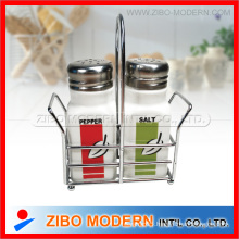 High Quality White Ceramic Spice Jars