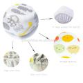 Baumwoll-Soft-Fit-Baby-Größe-Logo für Baby Jungen und Mädchen Spannbetttuch