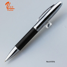 Lovely Design Carbon Fiber Ball Pen with Gift Box