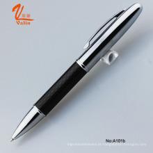 Lovely Design Carbon Fiber Ball Pen com caixa de presente