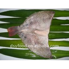 frozen skin-on butterfly tilapia fillet