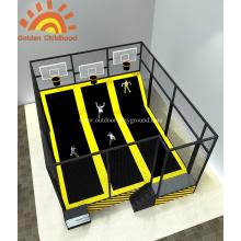 Gymnastic Basketball Trampoline Exercise  For Children