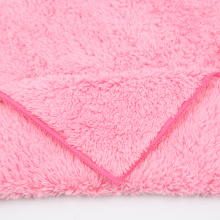 High Quality Microfiber Weft Coral Fleece Towels
