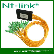 Fiber optic ribbon cable plc splitter