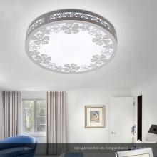 Beliebteste Runde Holz LED Deckenleuchte / LED Deckenleuchte