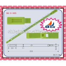 Sicherheitskennzeichnung BG-S-005 für Sicherheitszwecke, Abdichtung