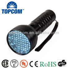 76 led with 2 modes glow in the dark led flashlight