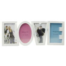 "Four 4""X6"" Collection Frame With Letter Love"