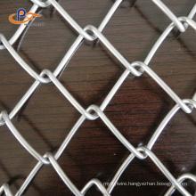Custom 8 Gauge Diamond Wire Mesh Chain Link Fence Roll