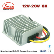 12V to 28V 8A 224W Boost Power Supply for Vehicles