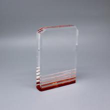 Grabado de placas perpetuas de acrílico personalizado