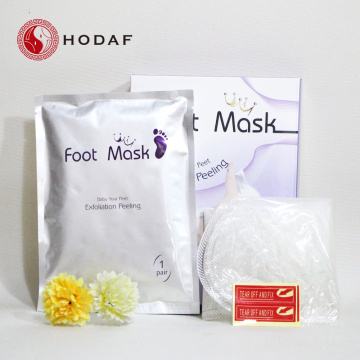 venda quente Peeling off Dead Skin Foot Mask
