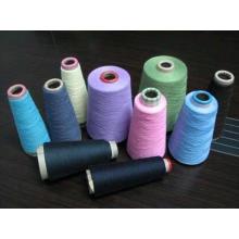 Fil à tricoter poilu en viscose de nylon