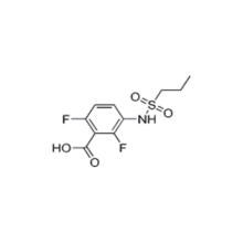 1103234-56-5,[Vemurafenib Intermediate]2,6-Difluoro-3-(propylsulfonaMido)benzoic acid